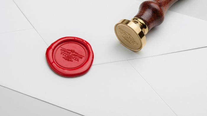 Wax Seal Stamp PSD MockUp